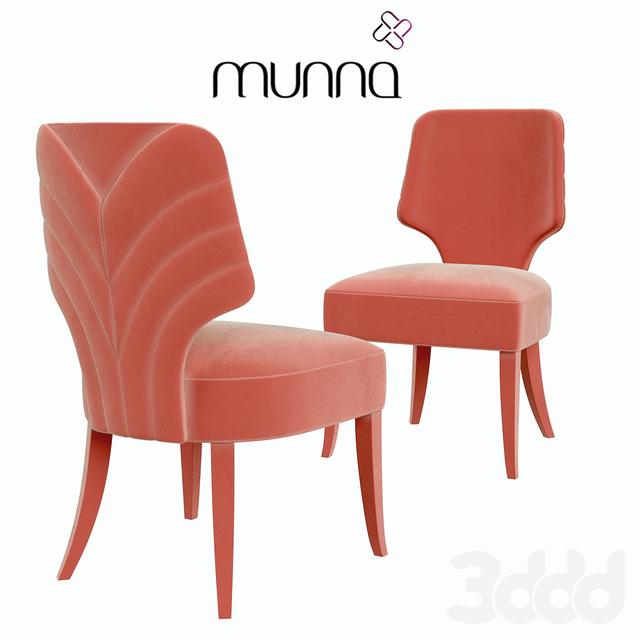 Munna (RU) Стул Melody от португальского бренда Munna в салонах ENRE