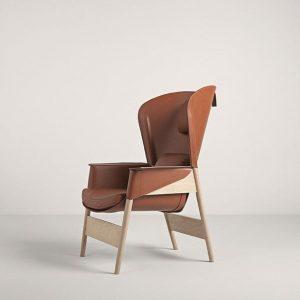 Кресло Heta от итальянского производителя Frag
