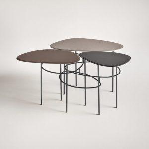 Кофейный столик Viae от итальянского бренда Frag