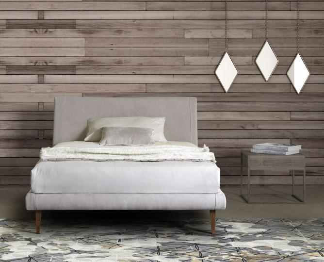 le comfort Кровать Metropolitan от итальянского бренда Le comfort в наличии