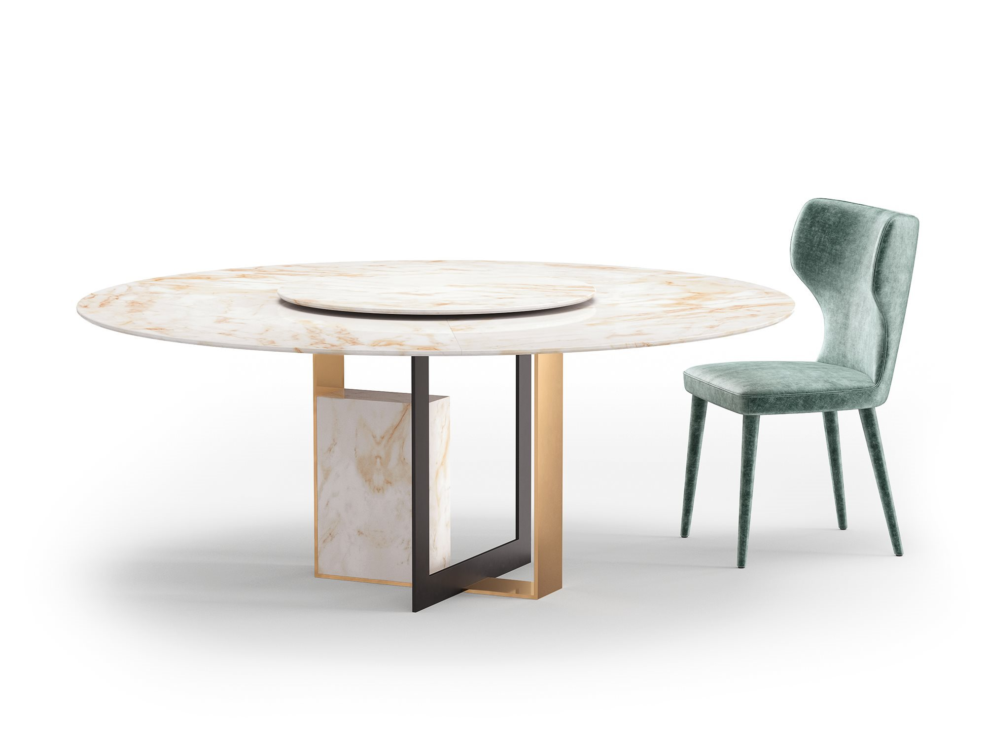 Alberta Salotti Обеденный стул Monika от итальянского бренда Alberta