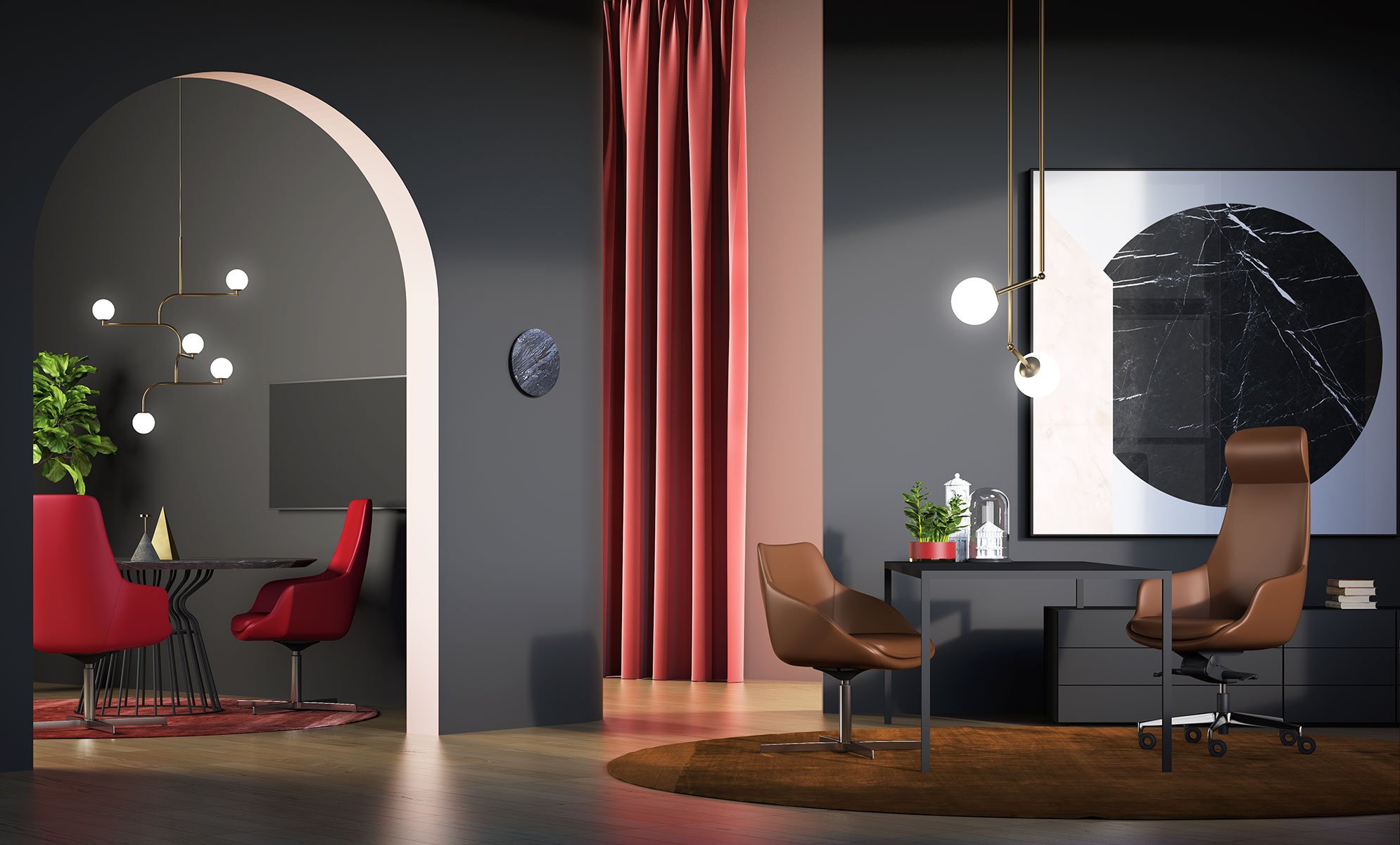 Arte&D (RU) Офисное кресло Metropolitan от итальянского бренда Arte&D