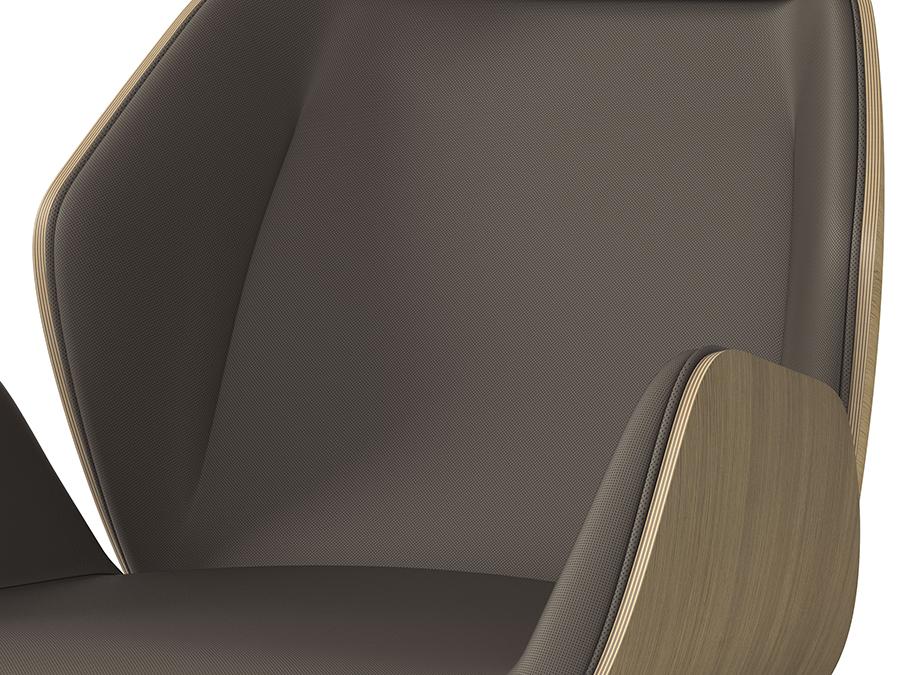 Arte&D (RU) Офисное кресло Haiku Wood от итальянской фабрики Arte&D