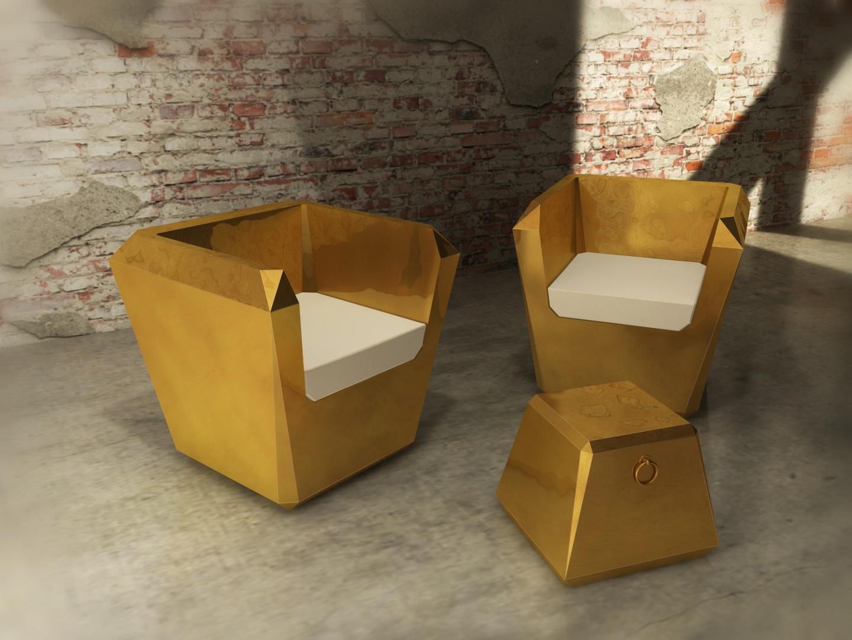Altreforme (RU) Кресло Lingotto от итальянского производителя Altreforme