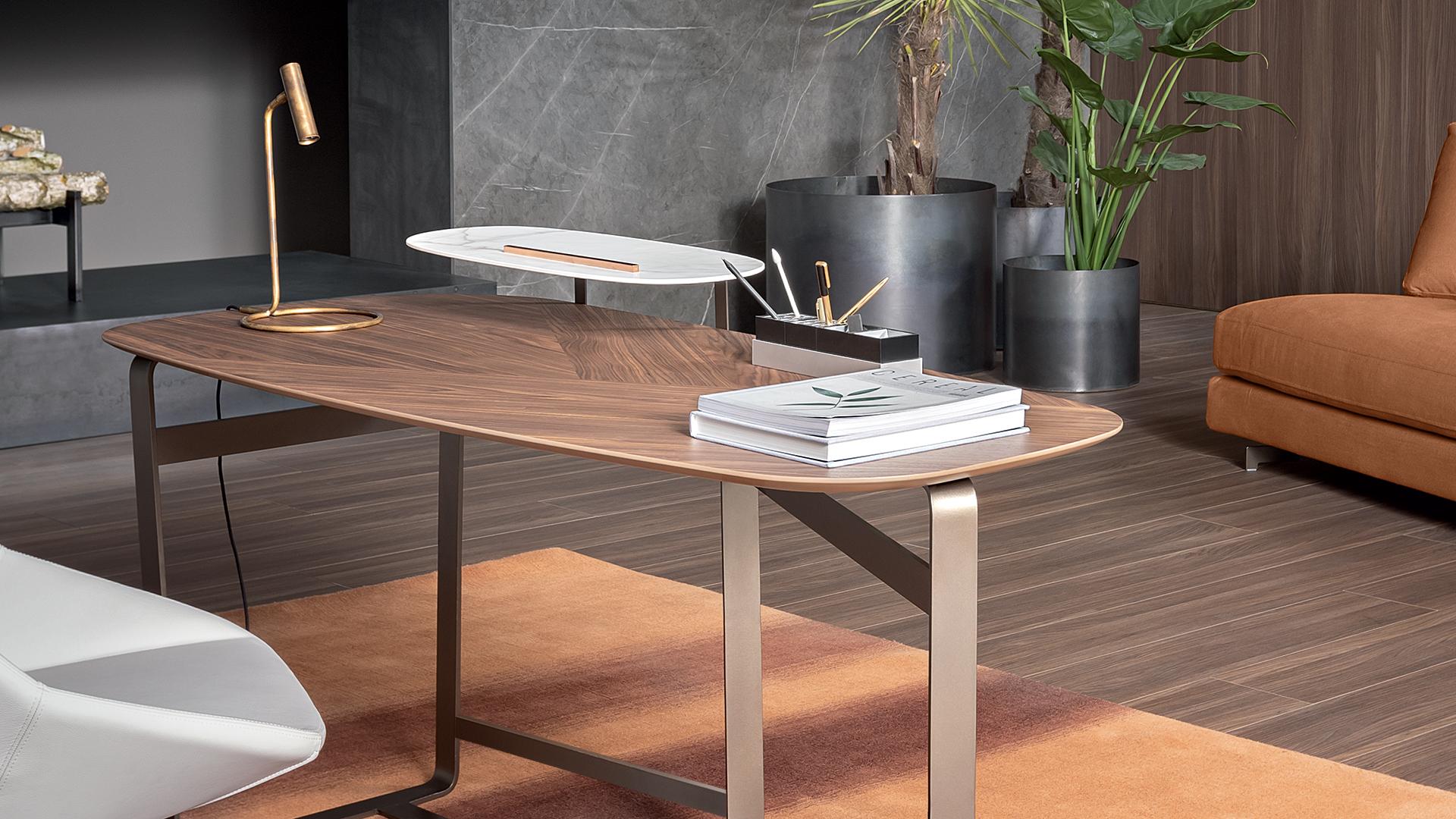 Bonaldo (RU) Письменный стол Gauss от итальянского бренда Bonaldo