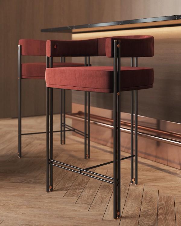 Praddy (RU) Барный стул Bamboo от от португальского бренда Praddy