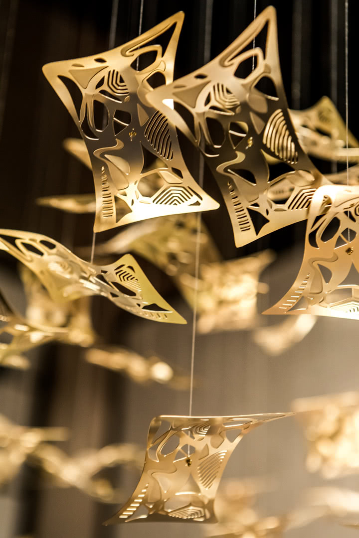 Cantori Стельовий  світильник Manta Ray від італійського бренду Cantori