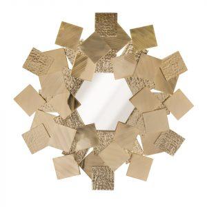 Настенное зеркало Mondrian от португальского бренда Castro lighting