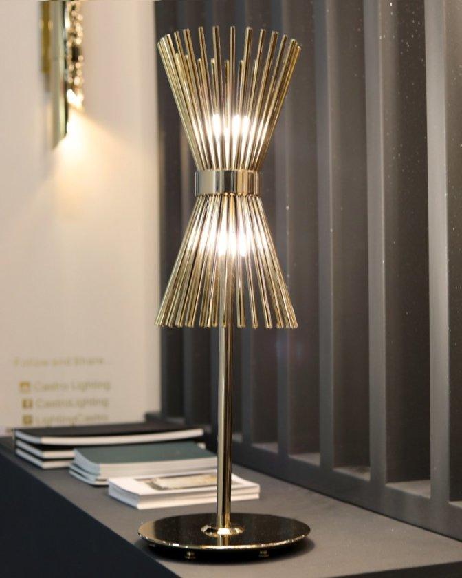 Castro Lighting Настільна лампа Halo від португальского виробника Castro lighting