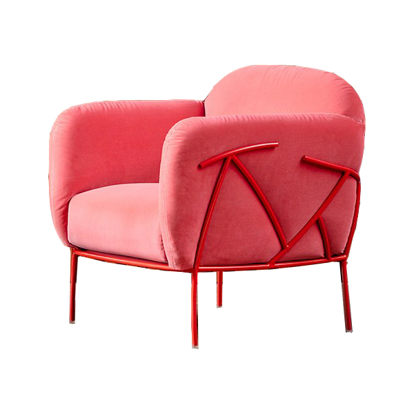 Кресла с металлической базой