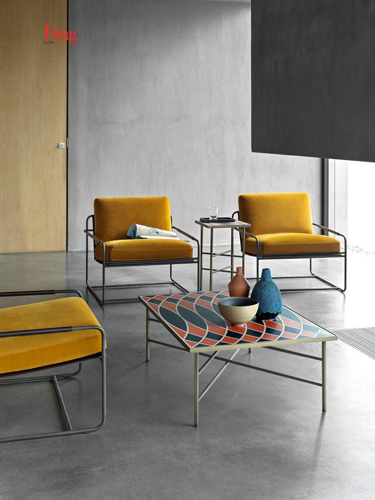 Frag Кофейный стол Motif 100 от итальянского бренда Frag